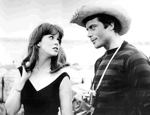 Jane Merrow and Oliver Reed
