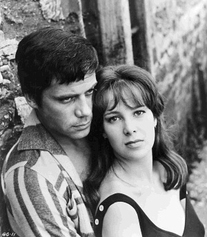 Oliver Reed and Jane Merrow